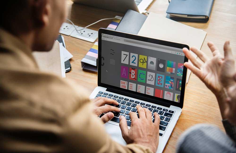 tips cara memilih jasa desain grafis profesional terpercaya pusat printing percetakan online indonesia murah layanan services