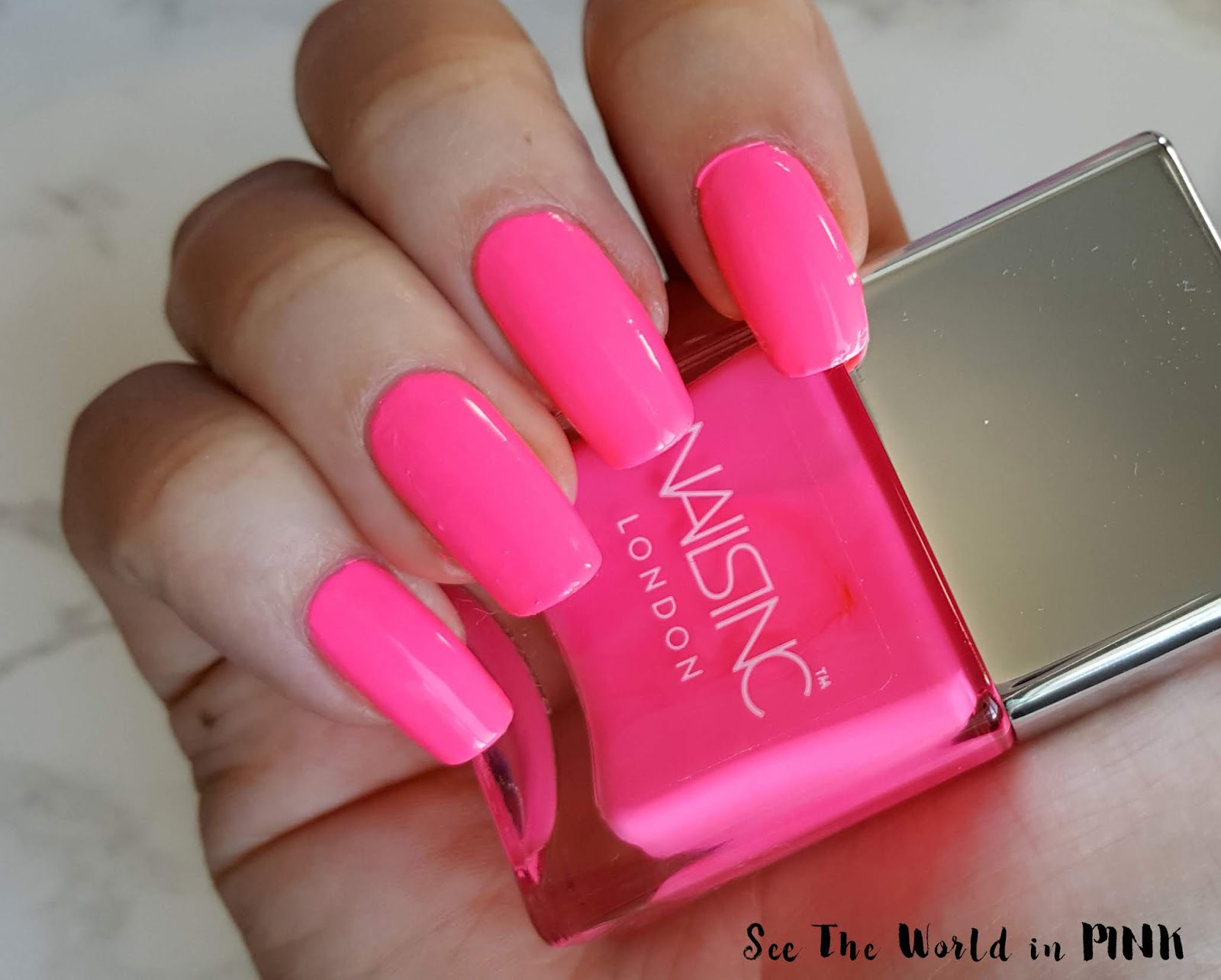 nails inc anything flamingoessss
