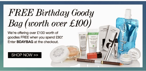 Cult Beauty Free Goody Bag