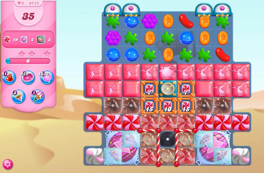 Candy Crush Saga level 9715