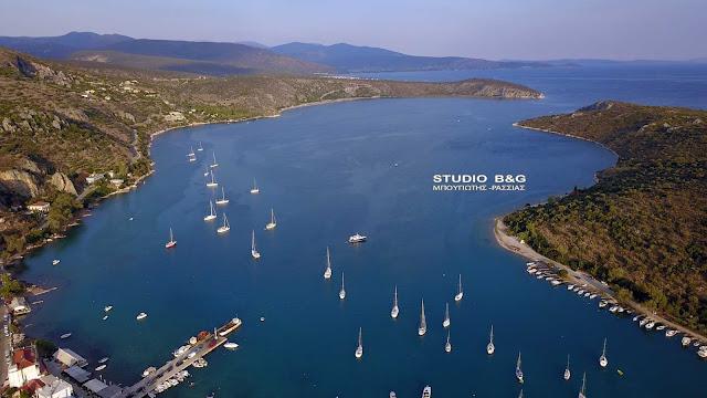 Απαγόρευση αγκυροβολίας σκαφών σε τμήμα της θαλάσσιας περιοχής του Βιβαρίου Αργολίδας