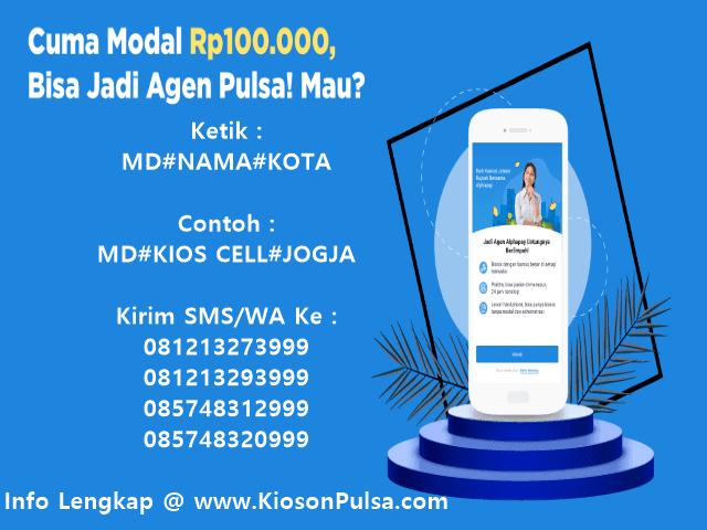 Ayo Daftar Menjadi Agen Pulsa Elektrik Murah All Operator Bersama KiosonPulsa.com CV Multi Payment Nusantara