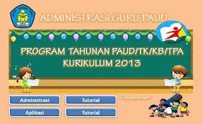 Dokumen Pedoman pembelajaran TK/PAUD/RA/KB/TPA Kurikulum2013/KTSP Tahun Ajaran 2016/2017
