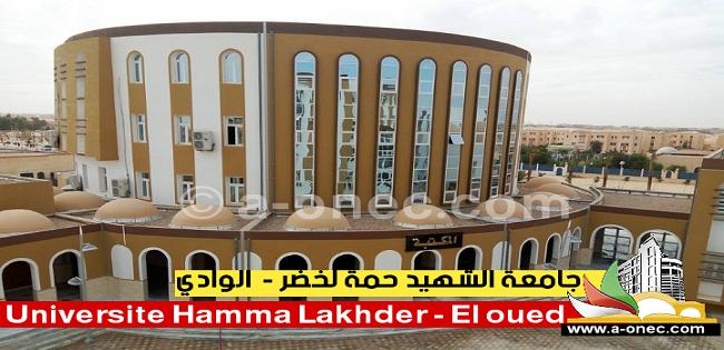 جامعة حمة لخضر الوادي