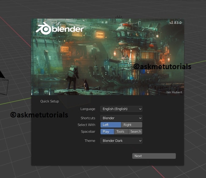 Install Blender 2.83 On Ubuntu / Linux Mint Via PPA