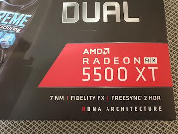 ASUS Dual Radeon RX 5500 XT EVO 2020 test