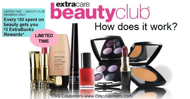 cvs beauty club extra bucks rewards