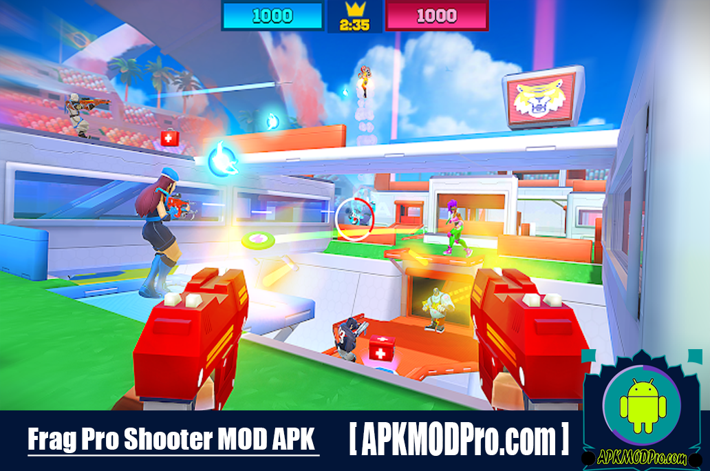 FRAG Pro Shooter MOD APK 1.5.5 (Unlimited Money) For Android