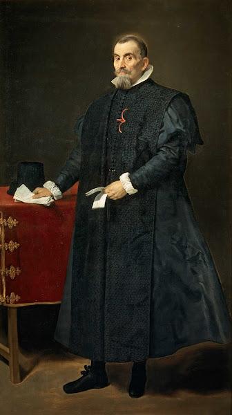 Диего Веласкес - Портрет Диего дель Коррал Ареллано (ок.1631)