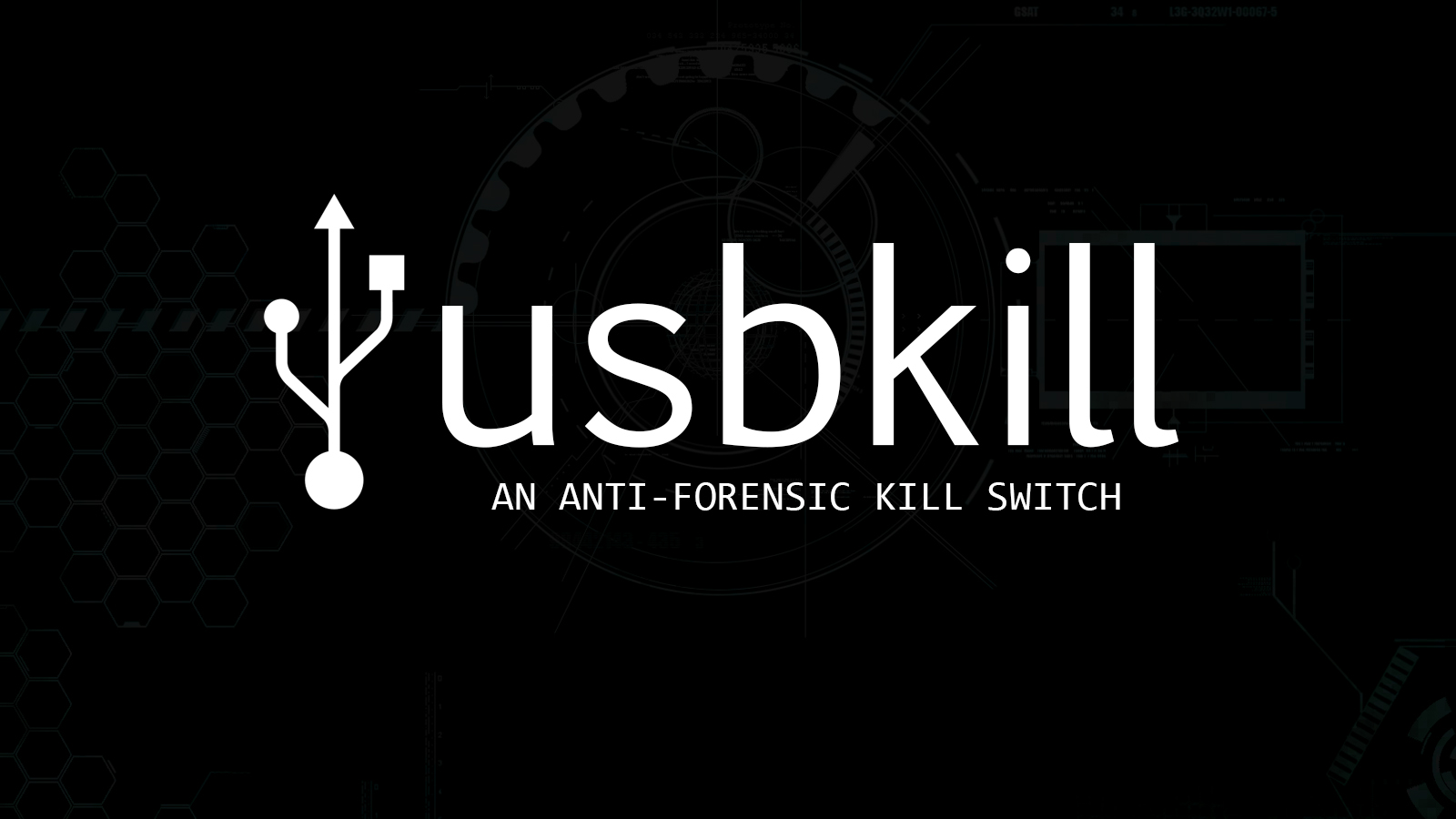 usbkill - An Anti-Forensic Kill Switch