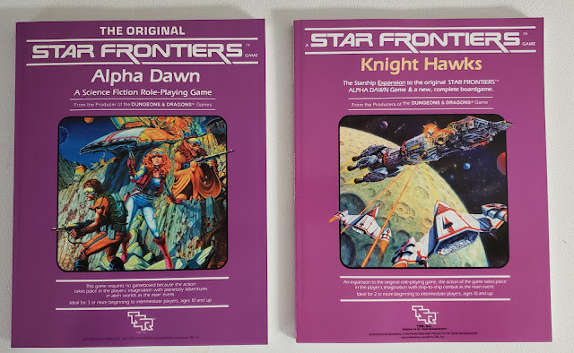 Star Frontiers, Print on Demand