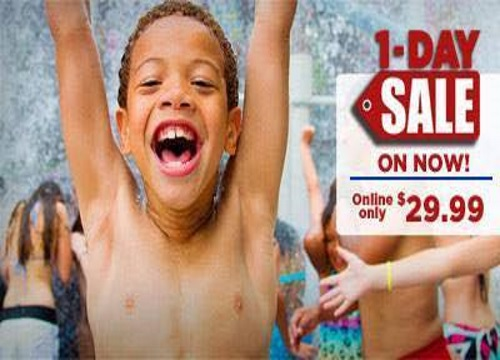 Canada's Wonderland 1 Day Sale Tickets $29.99