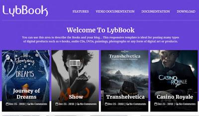 LybBook Blogger Template