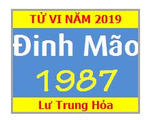 Tử Vi Tuổi Đinh Mão 1987 Năm 2019 Nam Mạng - Nữ Mạng