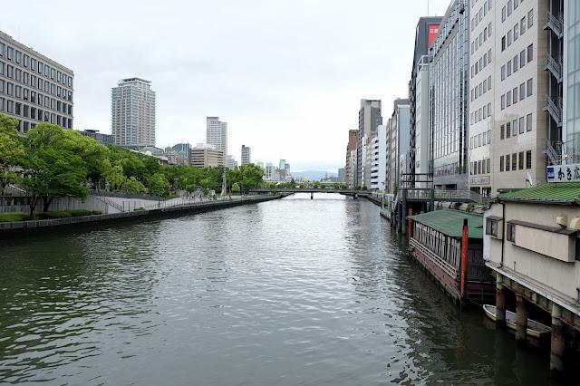 osaka river in osaka