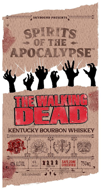 Spirits Of The Apocalypse - The Walking Dead Kentucky Bourbon Whiskey