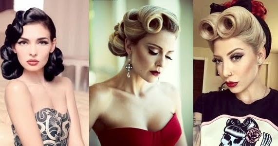 Hairstyles Inspired By The 40's