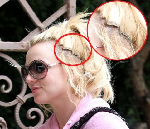 Agree, britney hair her shaved spear why opinion