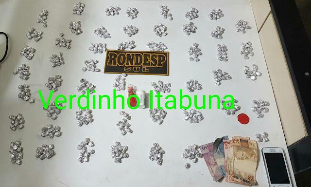 1504524526892 Rondesp Sul prende acusado de tráfico de drogas em Itabuna