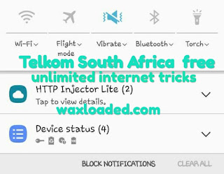Config file and VPN for Telkom South Africa free Unlimited Internet