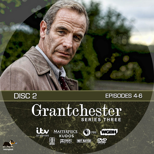 Grantchester Season 3 Disc 2 DVD Label