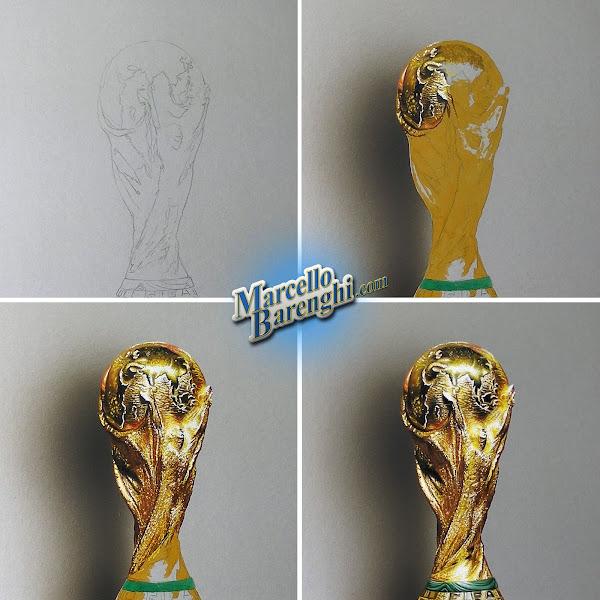 Draw Fifa World Cup Again 2014 Vs 2018 Marcello Barenghi