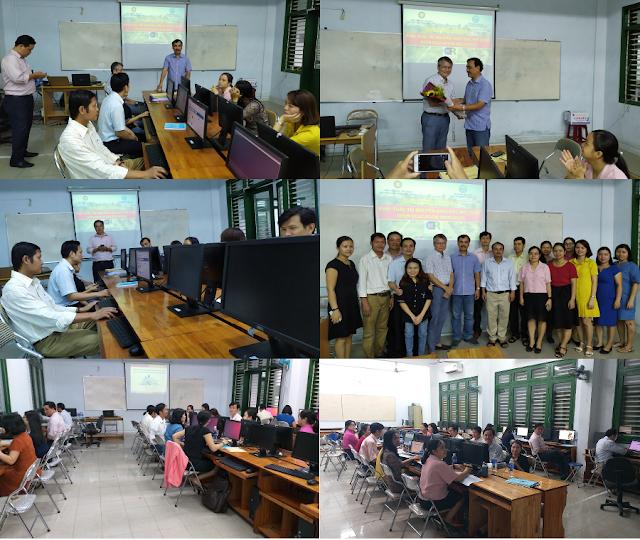 Khóa bồi dưỡng 'Thực hành khai thác tài nguyên giáo dục mở' ở trường Đại học Sư phạm Kỹ thuật, Đại học Đà Nẵng