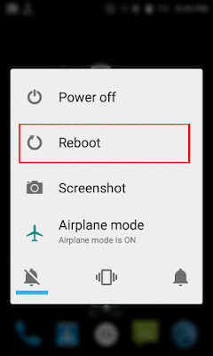 Android Reboot Option