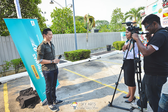 Got a quick interview with Petronas Media. It was fun and I think I can do better next time haha!! Thanks @saimatkong for the photos