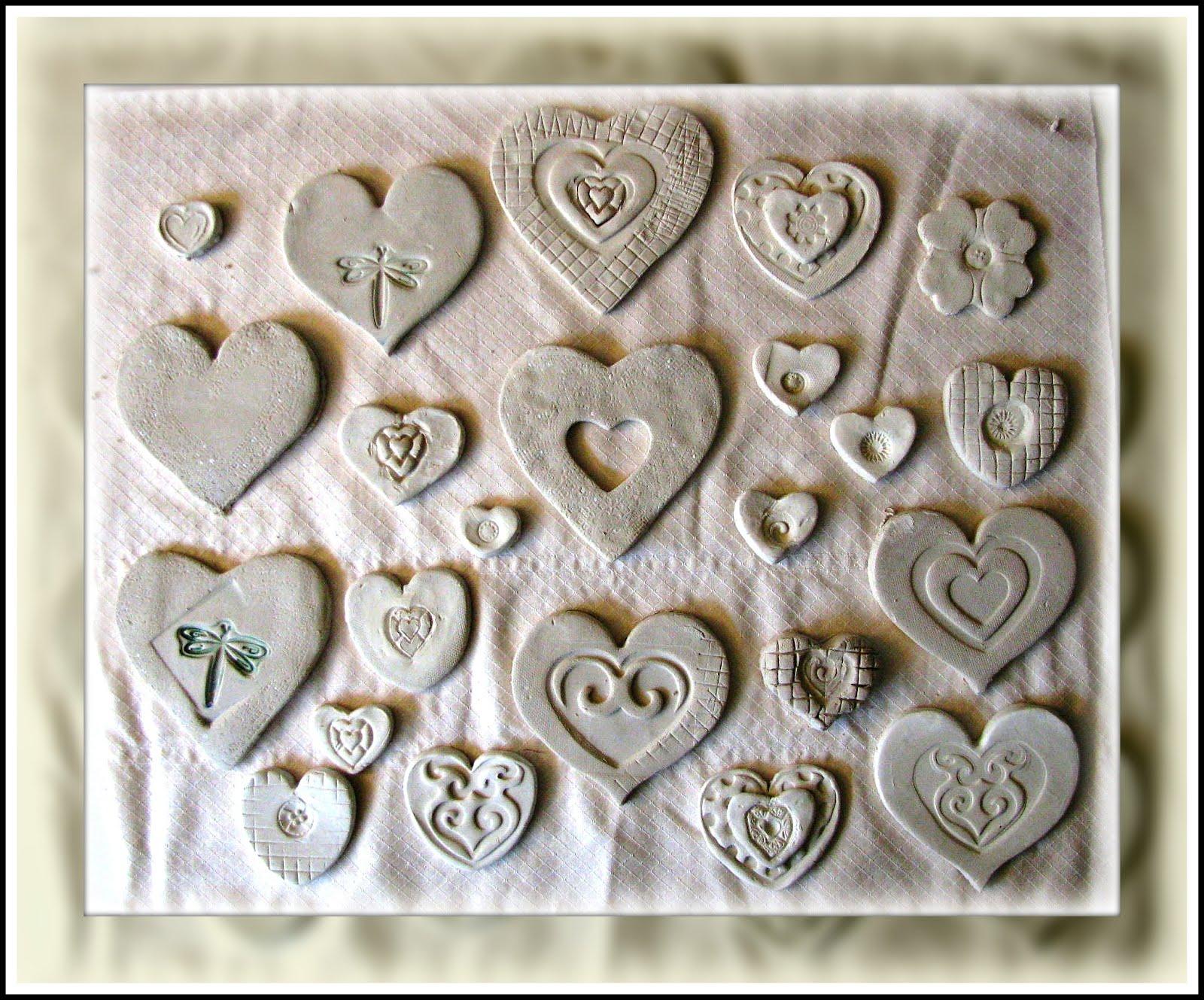 Plateau Art Studio Clay Cookie Cutter Hearts