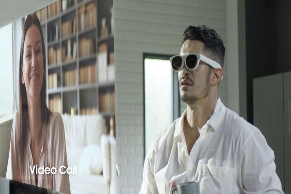أول فيديو مسرب لنظارات سامسونغ الجديدة بالواقع المعزز Samsung Glasses Lite