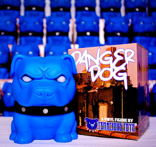 Tenacious Toys Danger Dog the Pit Bull Vinyl Toy 02