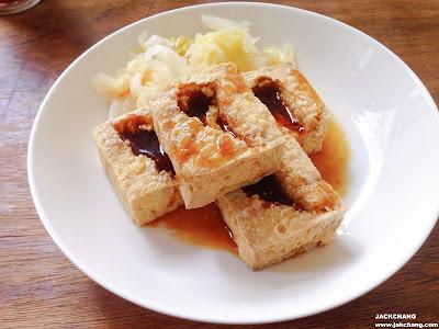 脆皮臭豆腐
