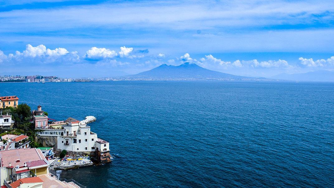 Curiosidades de Nápoles vista de la ciudad