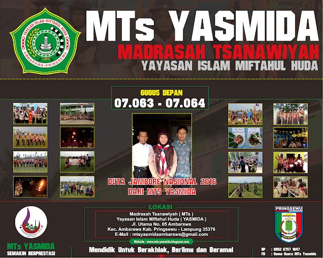 Design Banner Pramuka MTs Yasmida Ambarawa