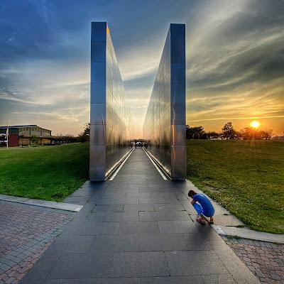 Empty Sky Memorial in Jersey City