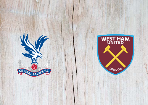 Crystal Palace vs West Ham United -Highlights 26 January 2021