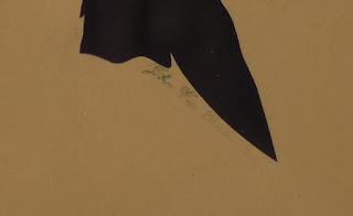 4801 Vintage John Van Bibber Silhouette boy only signed area