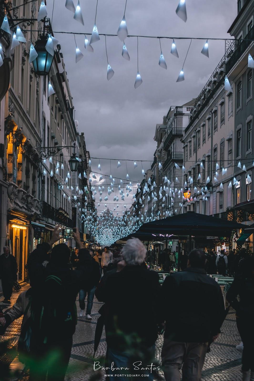 Rua Augusta - Christmas Decorations in Lisbon