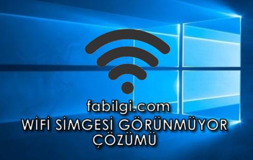 Windows 10 Wifi Simgesi Görünmüyor Çözümü Realtek RTL8821