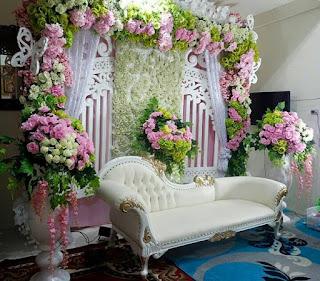 dekorasi pelaminan minimalis 081259483978 - dekorasi