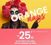 Pittarello Orange Days :  -25 euro di sconto su una spesa minima di 99 euro! Solo per pochi giorni