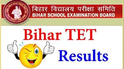 Bihar STET Result 2020-21
