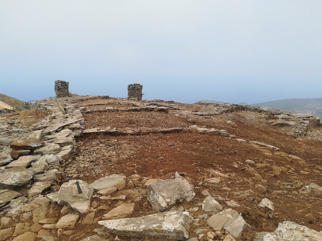 Ancient settlement located at Pyrgari, on Greek island of Evia