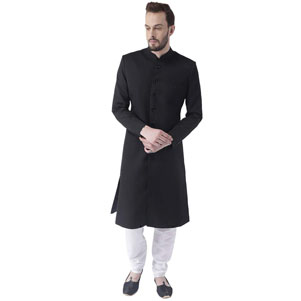 Hangup sherwani set one top and one bottom set available in and patternsizes(s to 3xl)