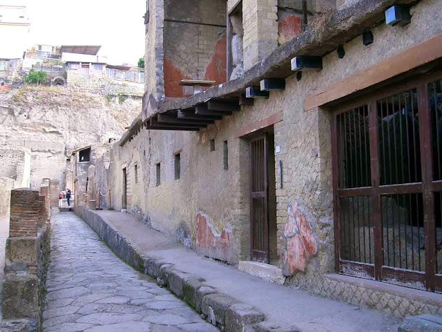 Italia; Italy; Italie; Campania; Herculano; Ercolano; Herculanum; Herculaneum; Calle
