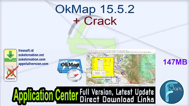 OkMap 15.5.2 + Crack