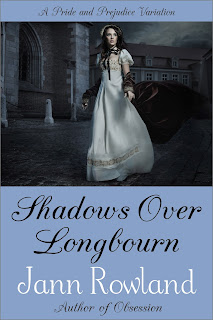 Book cover: Shadows over Longbourn by Jann Rowland
