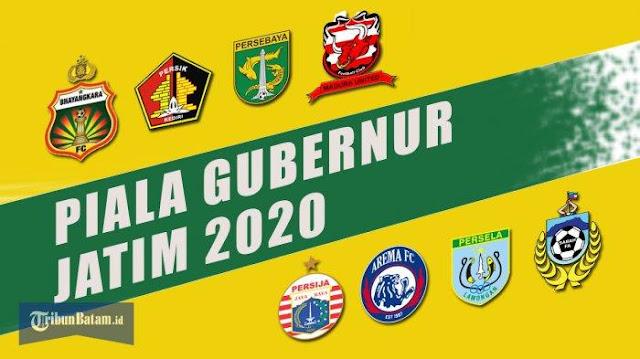 Jadwal Piala Gubernur Jatim 10-20 Februari 2020. Siaran Langsung MNCTV