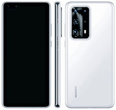 Two of the P40 Pro cameras are equipped with large Sony sensors